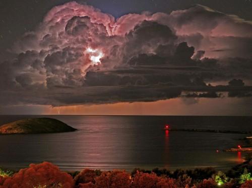 éclairs, orages, foudre