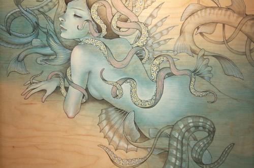 kawasaki,manga,dessins sur bois