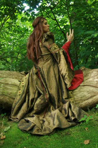 forêt, elfeique,princesse,robe